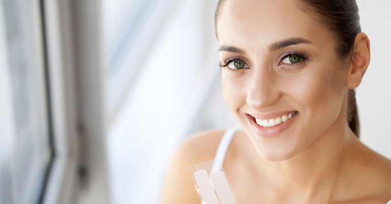 at home teeth whitening vs dentist