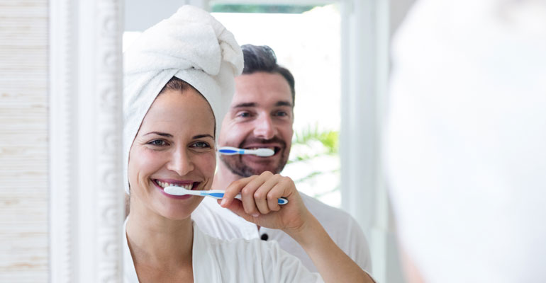 proper hygiene oral health