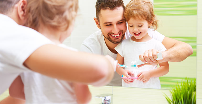 teaching children oral habits